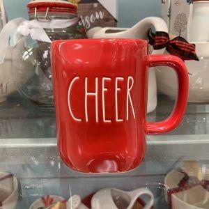 Rae Dunn Holiday CHEERS Large Letter Mug 🎁